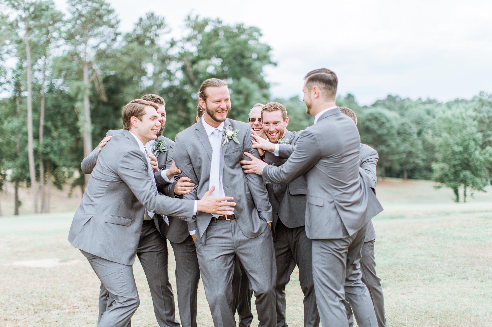 wedding at the club at lake sinclair
