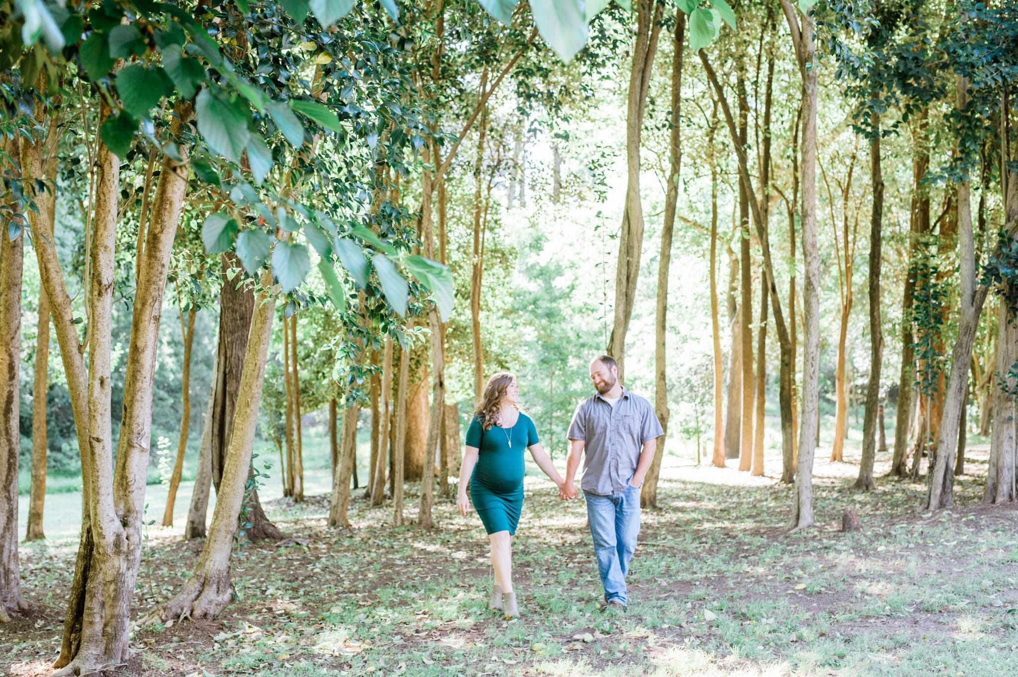 Jackson Springs Park Maternity Session | Macon Photographer