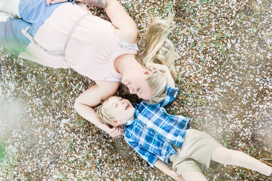 Spring Family Session | Macon Photographer