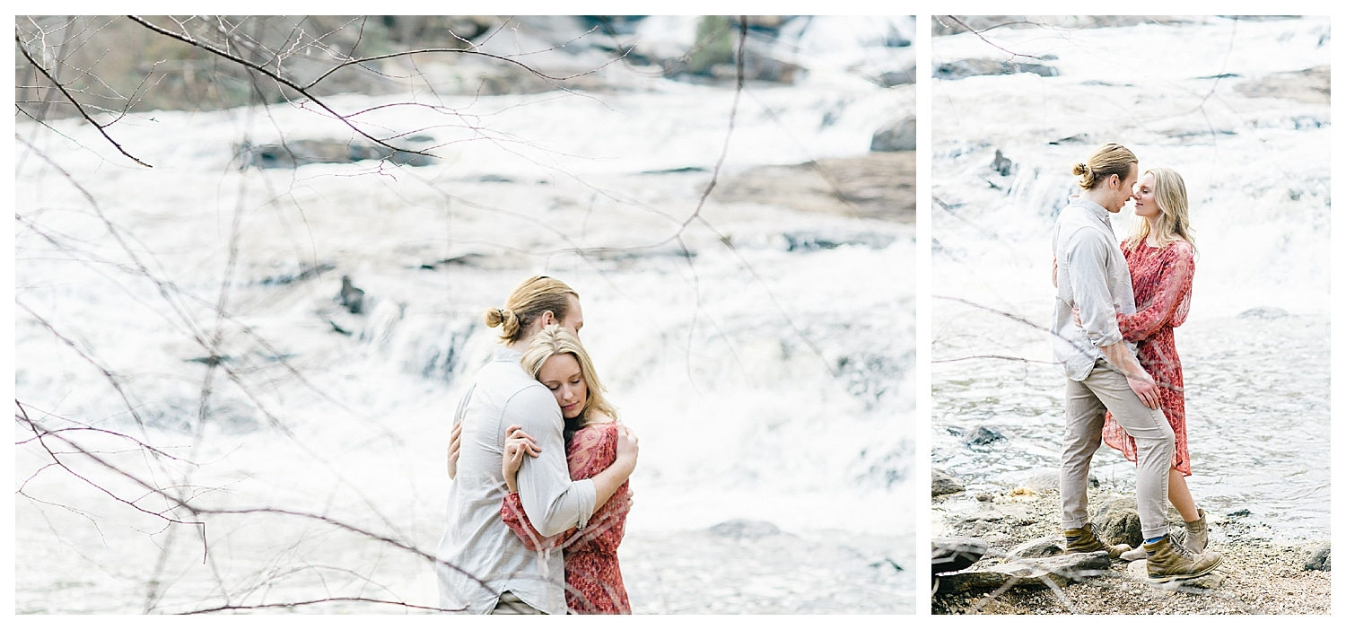 High Falls Engagement Session Jackson, GA