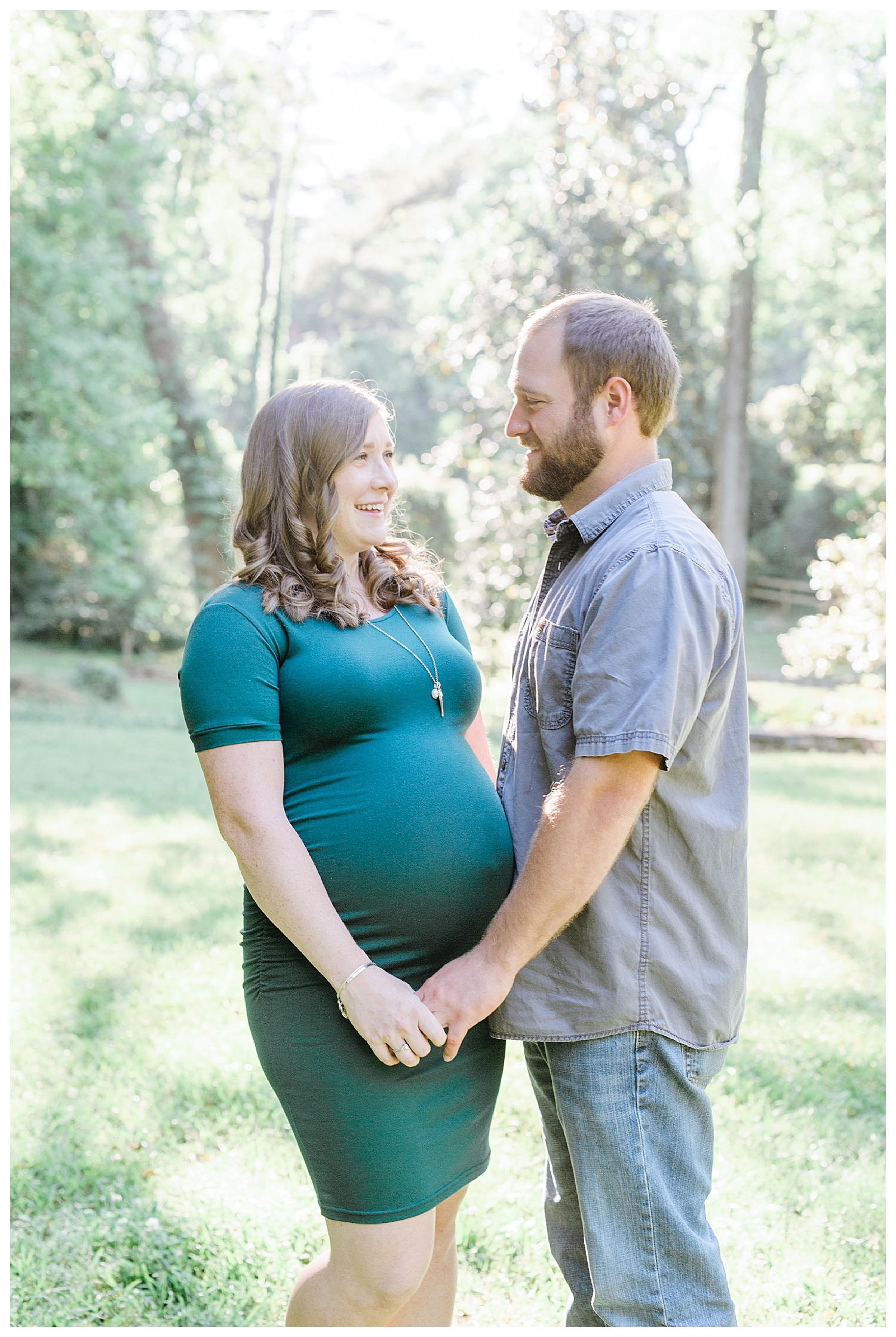 Maternity Pictures at Jackson Springs Park