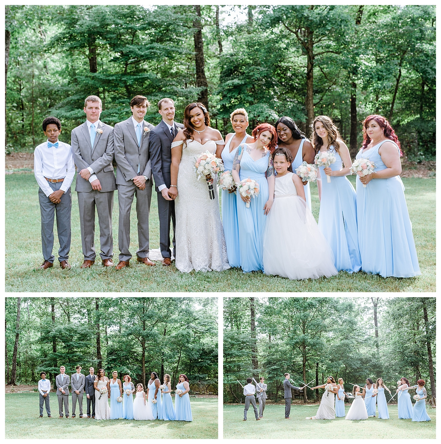 Star Wars Themed Summer Wedding