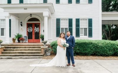 Grand Magnolia House Wedding | Rebekah & Alex