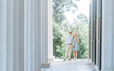 Lockerly Arboretum Engagement Session | Jordan + Colt