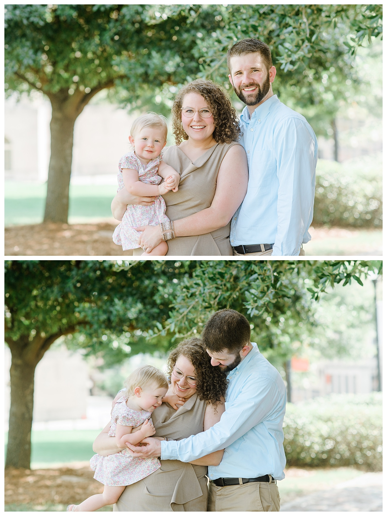 downtown macon family shoot