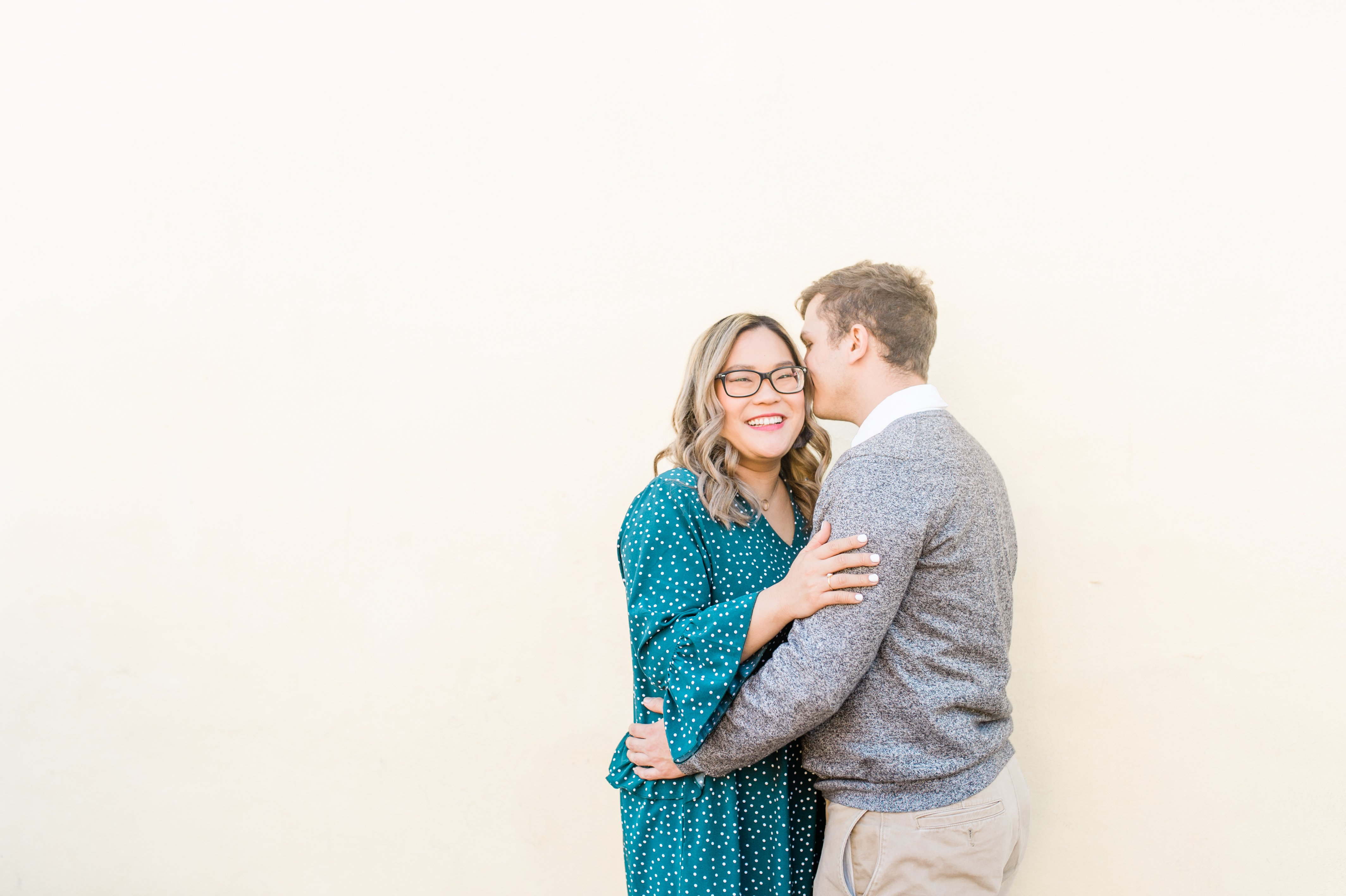 engagement session in marietta square
