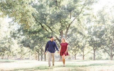 Perry, Georgia | Engagement Session in the Pecan Orchard