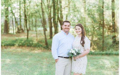 Intimate Backyard Wedding | Macon, GA