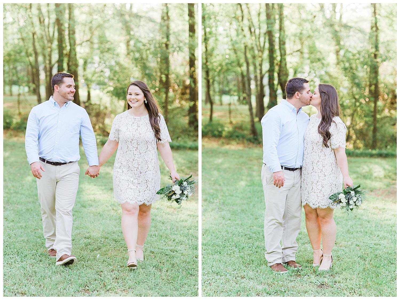 Backyard Wedding in Macon, GA