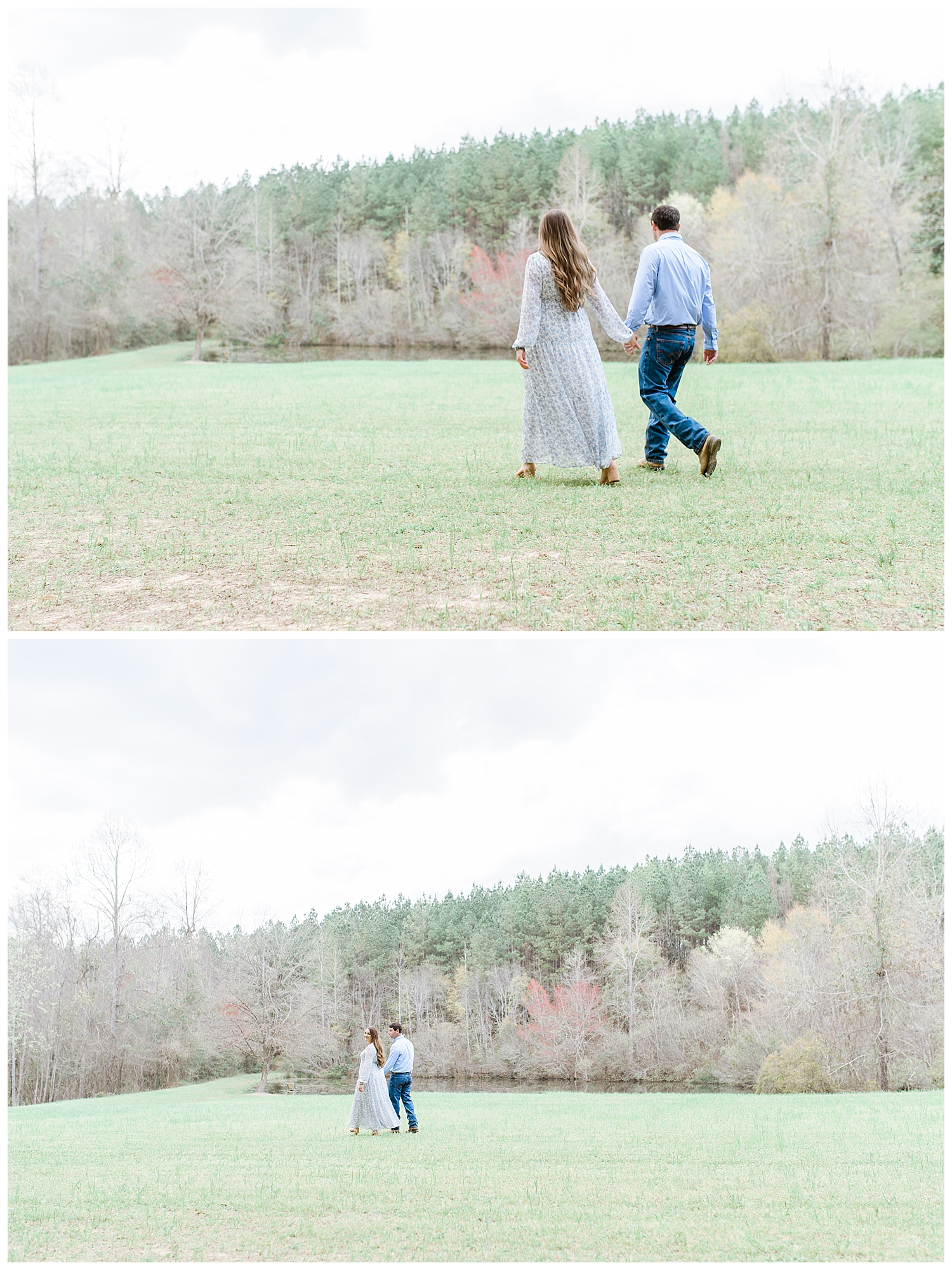 Spring Engagement Session in Macon, GA