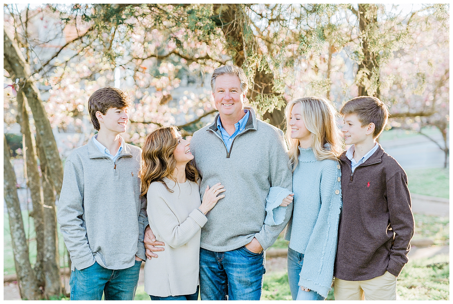 Family Session at Coleman Hill in Macon, GA