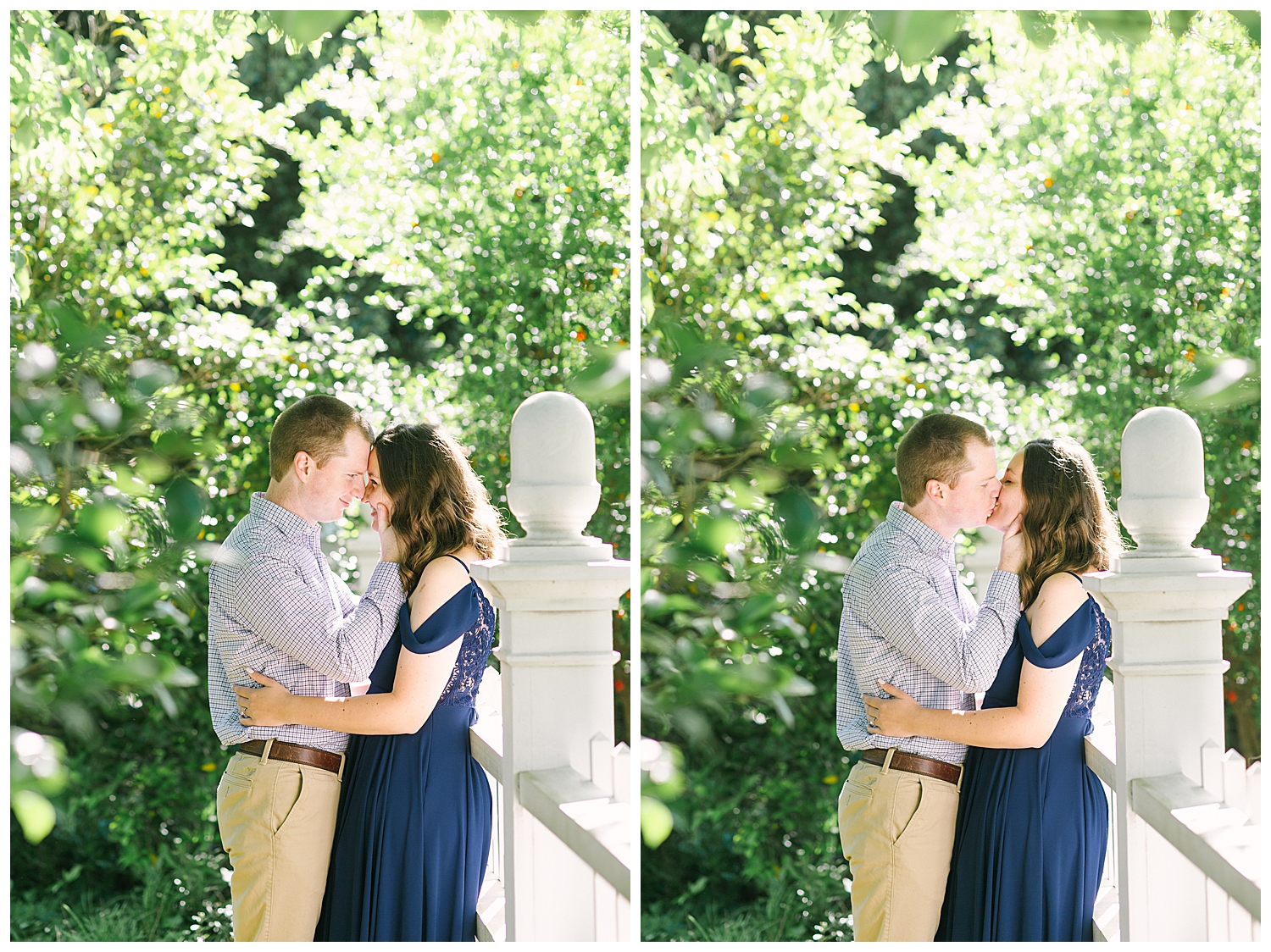 Engagement Session at GCSU in Downtown Milledgeville