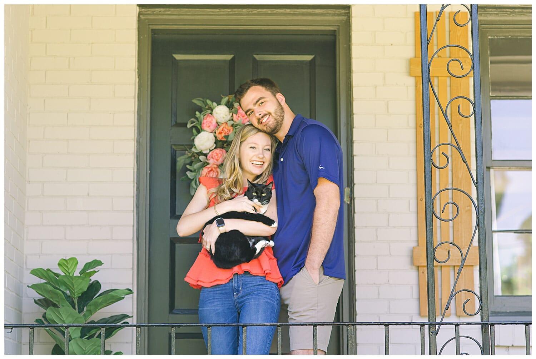 Porch Portraits in Macon, GA