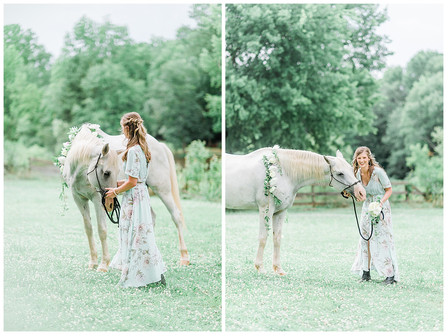 Styled Shoot with Horse in Macon, GA
