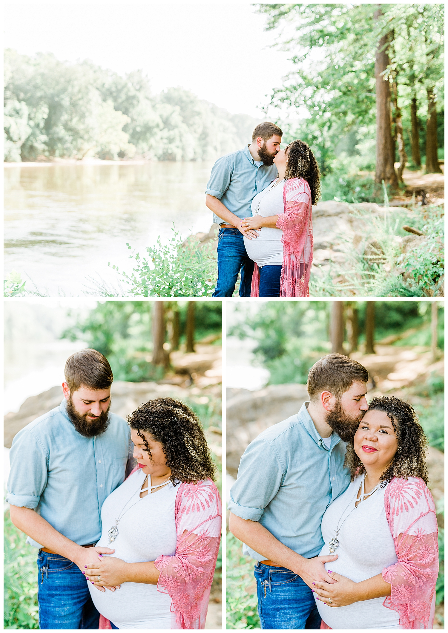 Maternity Shoot at Amerson River Park