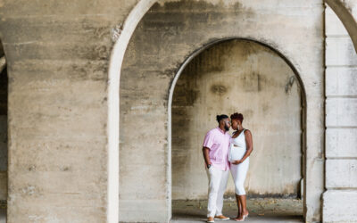 Downtown Macon Maternity Session | Macon, GA Family Photographer