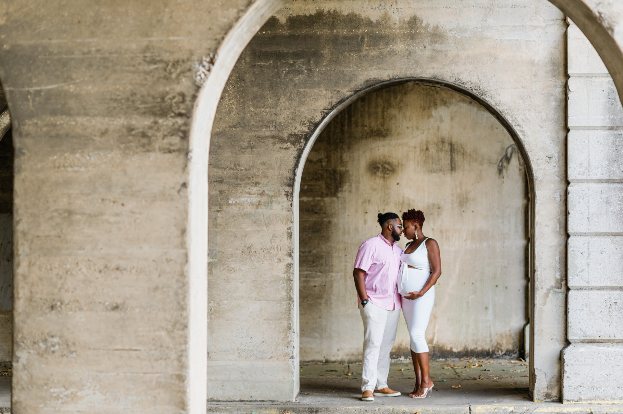 Downtown Macon Maternity Session