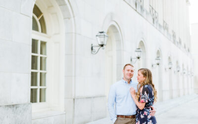 Downtown Macon Engagement Session | Macon Photographer
