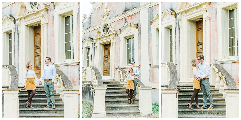 Mansion Engagement Session