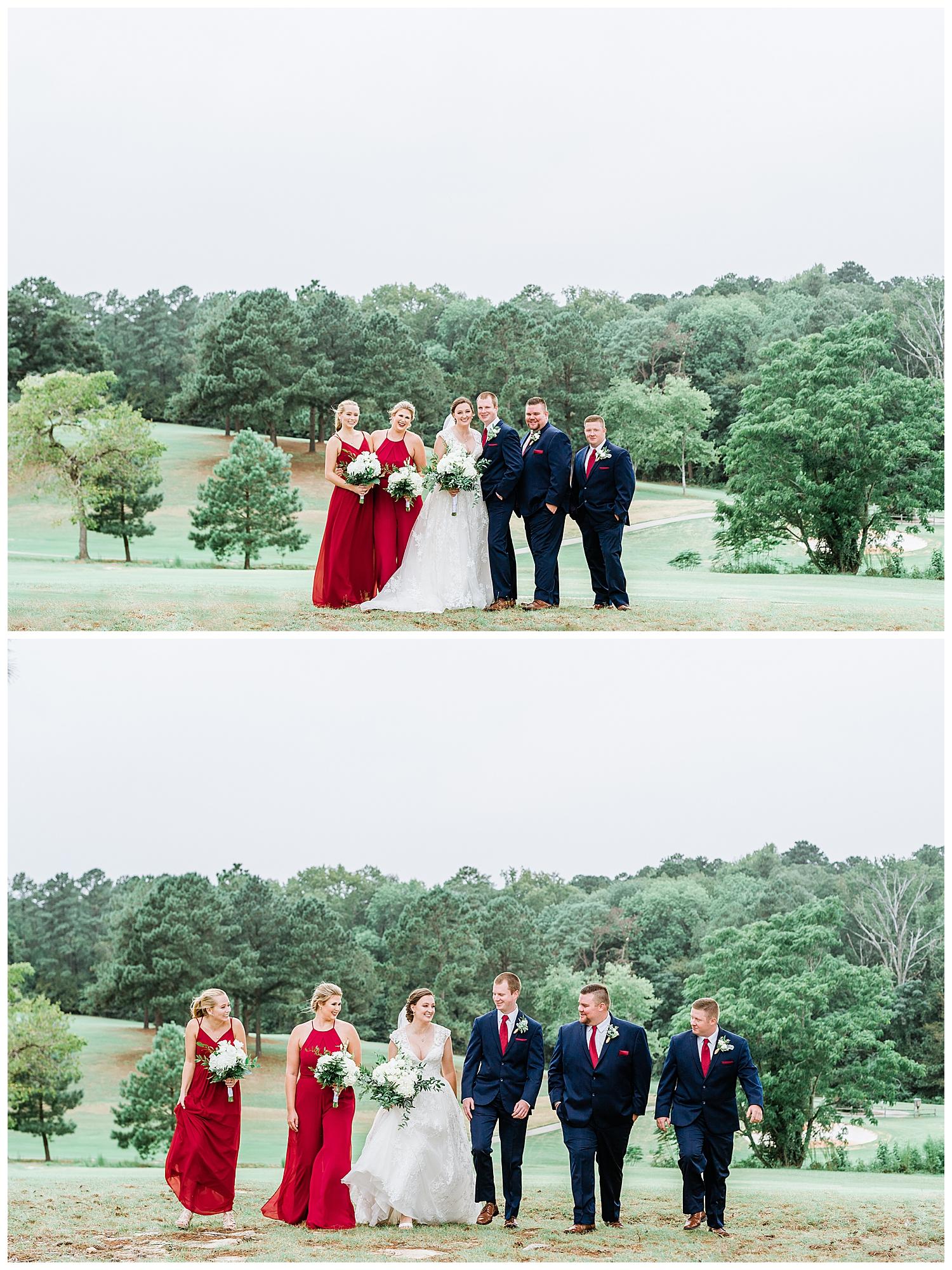 Fall Wedding at The Club at Lake Sinclair