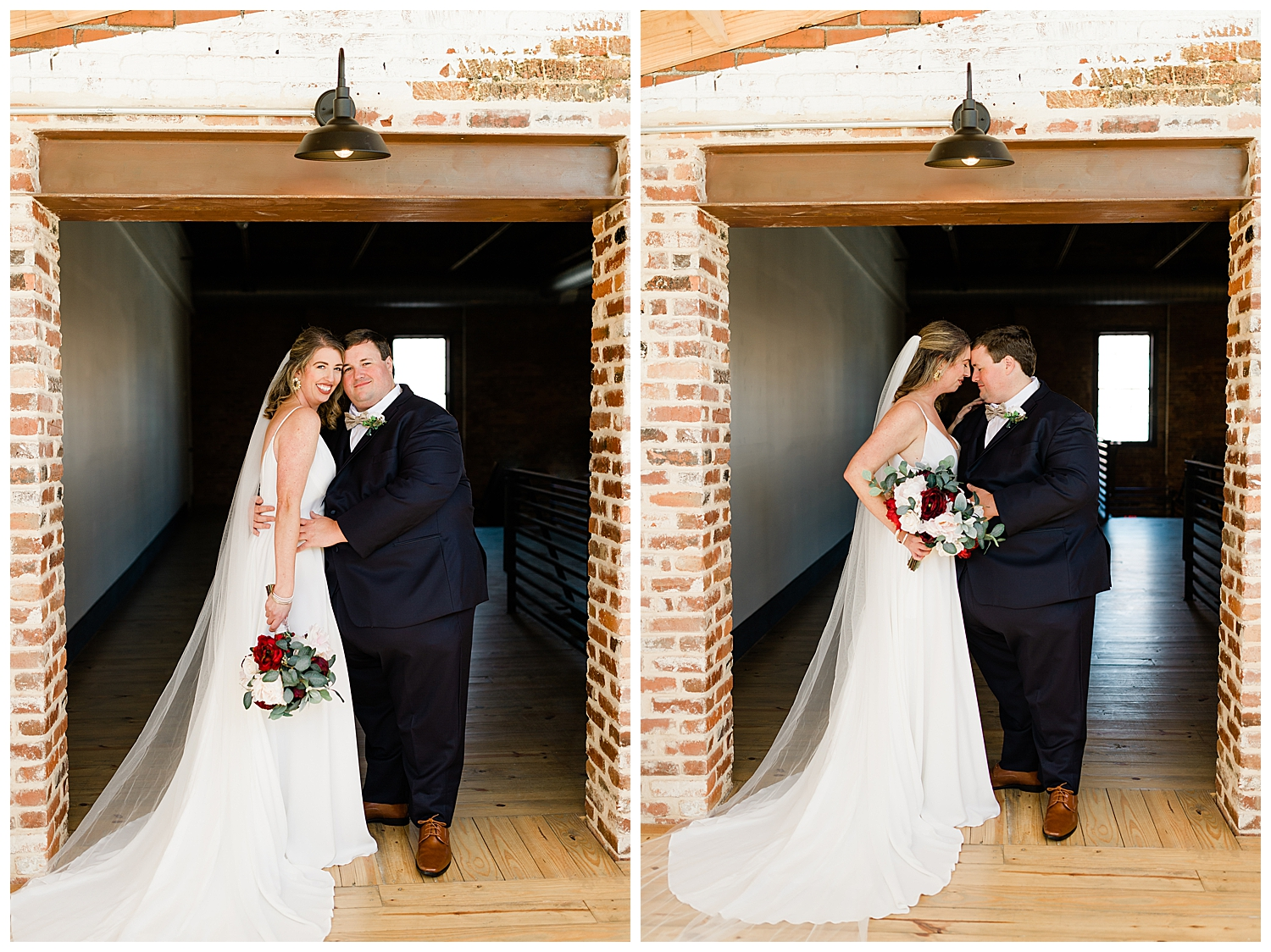 Downtown Macon Wedding at Fall Line Station by C. Hope Photography
