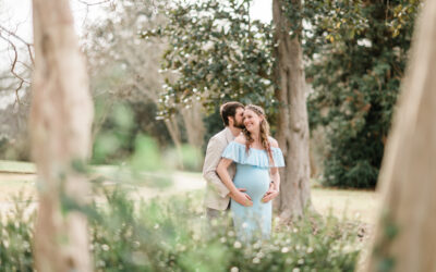Maternity Pictures at Lockerly Arboretum | C. Hope Photography