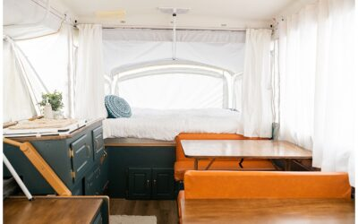 Our Pop Up Camper Remodel | C. Hope Photography