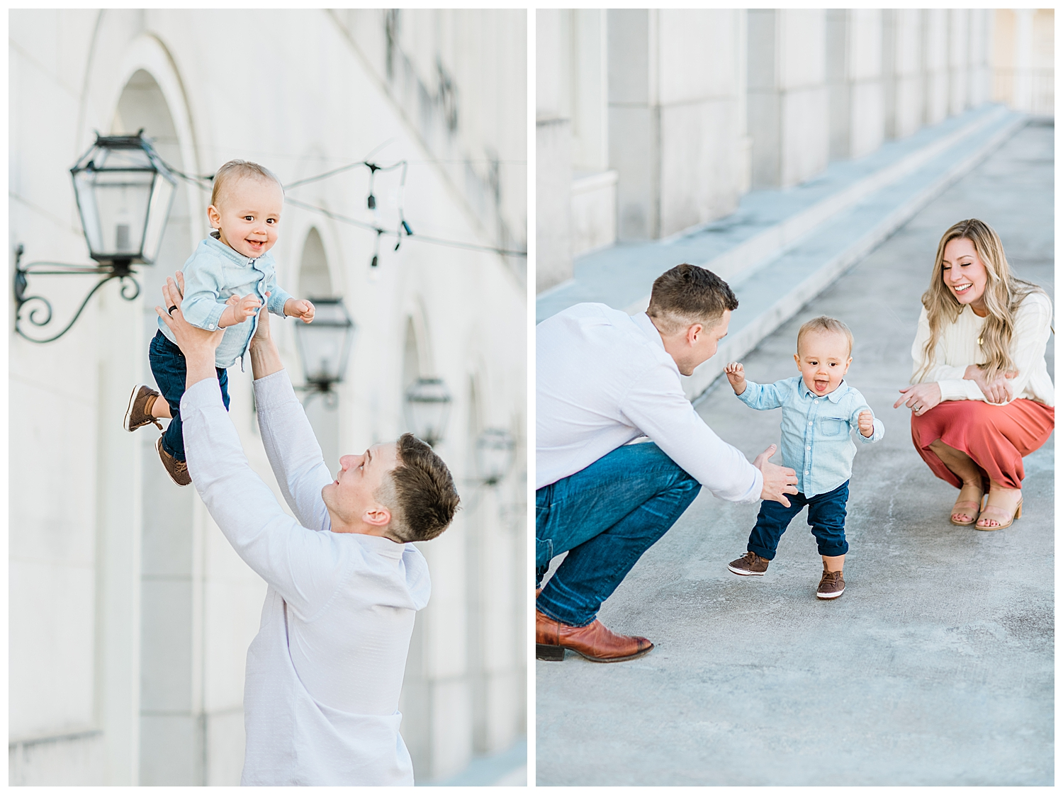 Spring Family Session in Downtown Macon