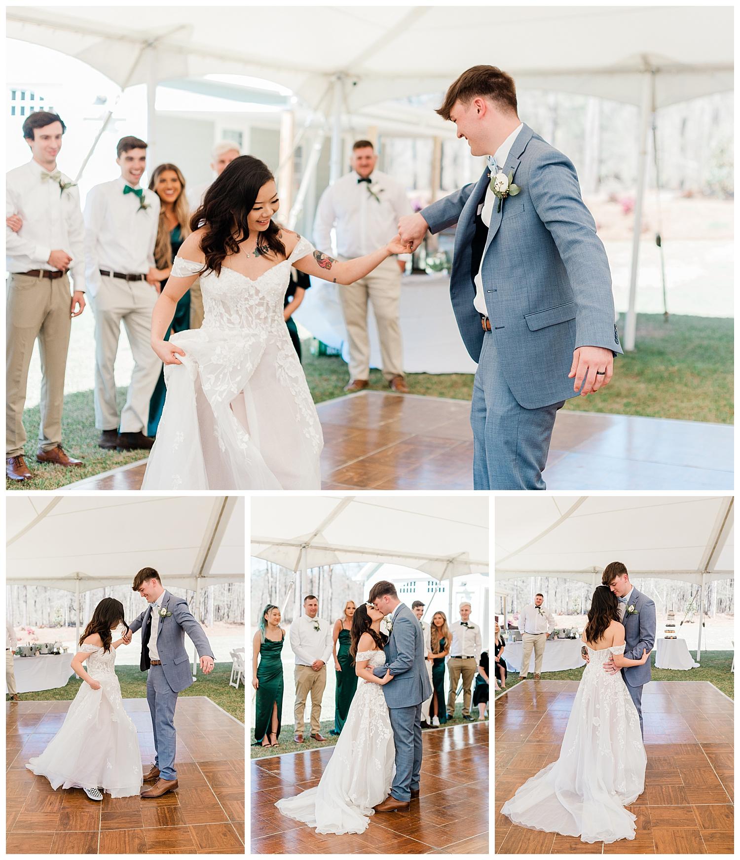Beautiful Backyard Spring Wedding in Macon GA